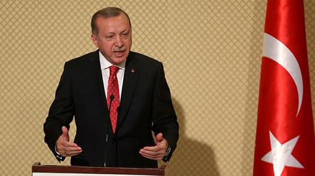 Turkey's President Tayyip Erdogan © Zoubeir Souissi