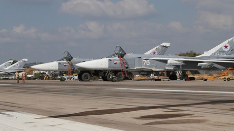 The Khmeimim airbase in Syria © Sputnik