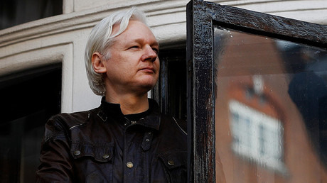 'Marshall attack': Assange sends Twitter into frenzy of speculation over chessboard