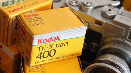 Kodak stock doubles as photo-giant joins cryptocurrency frenzy with 'KODAKCoin'
