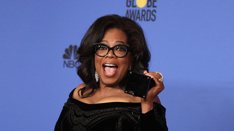 75th Golden Globe Awards, Oprah Winfrey. © Lucy Nicholson