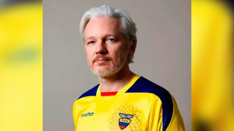 Assange issued 'Ecuadorian ID' as UK rejects bid to grant him diplomatic status – reports
