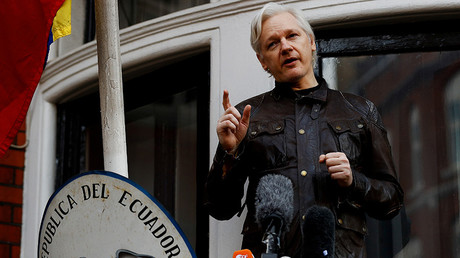 FILE PHOTO: Julian Assange © Reuters