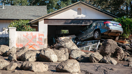 California mudslides kill at least 17, destroy dozens of homes