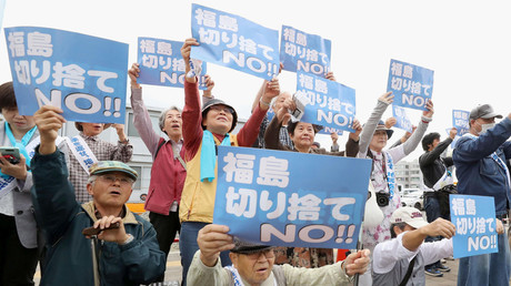 Japan restarts Genkai nuclear reactor after 7yr halt despite locals' protest (PHOTOS, VIDEOS)