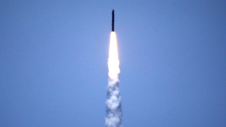 US ballistic missile defense system test launch © Lucy Nicholson