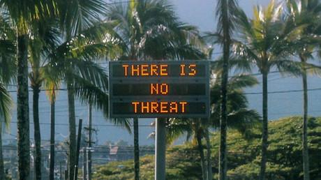 False missile warning raises havoc in Hawaii