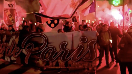 Parisians march for French identity