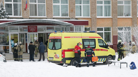 Ax & arson havoc at Russian school: Teen injures 6, starts blaze