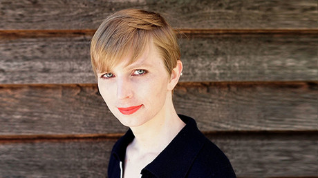 Chelsea Manning is pictured on May 18, 2017, one day after being released from a top-security US military prison. © Chelsea Manning