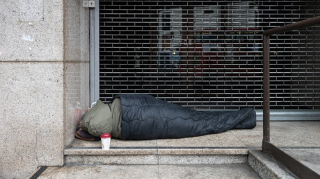 Tory posters 'stigmatize all homeless,' suggest beggars want money for drugs