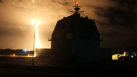 Is Japan aiming its US-bought missile systems at Russia & China?