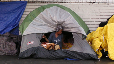 Arrests & crimes against homeless in Los Angeles on the rise – report