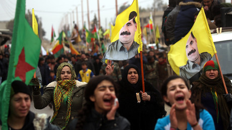 'Afrin will be your graveyard,' Kurdish protesters tell Erdogan (VIDEO)
