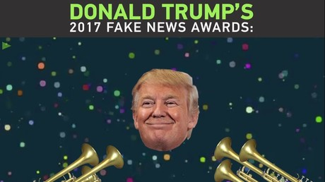 Trump's 2017 Fake News Awards