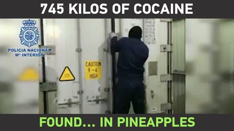 745KG of cocaine found in an unusual place!