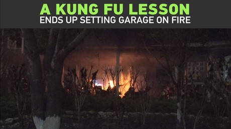 Boy practices kung fu, IGNITES 40 e-bikes in process