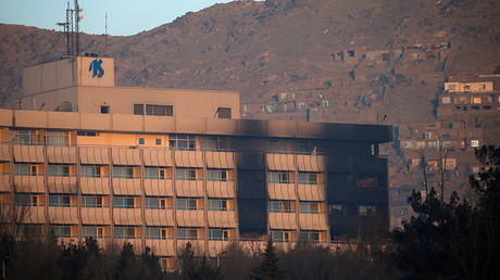 12-hour siege of Kabul Intercontinental Hotel ends, all 3 attackers killed (WATCH LIVE)
