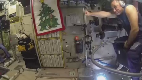 Can you fly a vacuum cleaner in space? Russian cosmonaut proves anything is possible