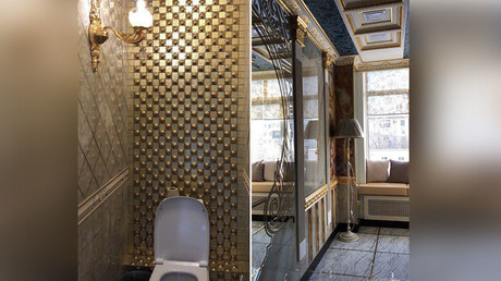 Going in style: Lavish toilet at Russian university causes stir