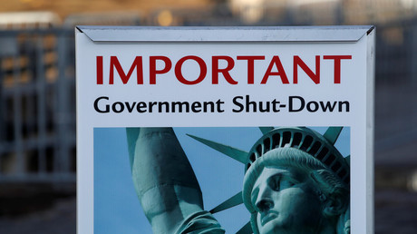 US government shutdown © Andrew Kelly