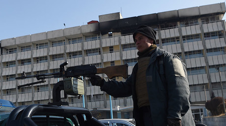 Military university in Kabul rocked by explosions & gunfire