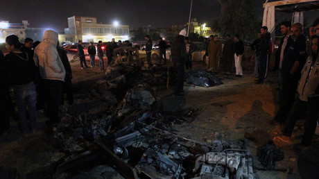 Dozens killed & injured in twin bomb attack in Libya's Benghazi (VIDEO)