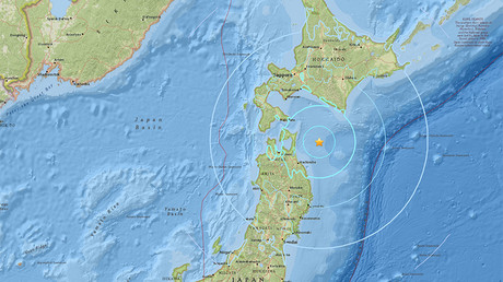 6.3 magnitude earthquake strikes off northern Japan