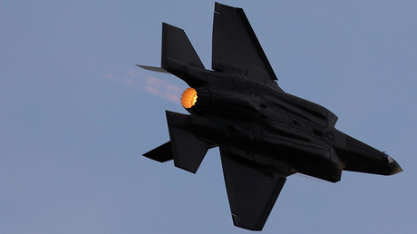 FILE PHOTO F-35 fighter jet © Amir Cohen