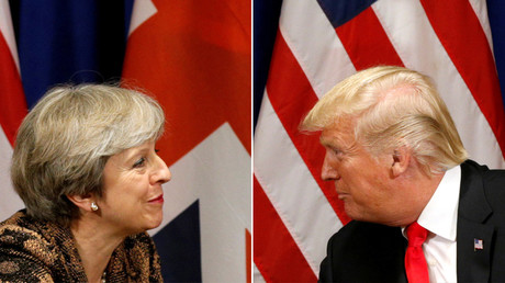 Make up or break up? May and Trump face awkward Davos meeting after months of bickering