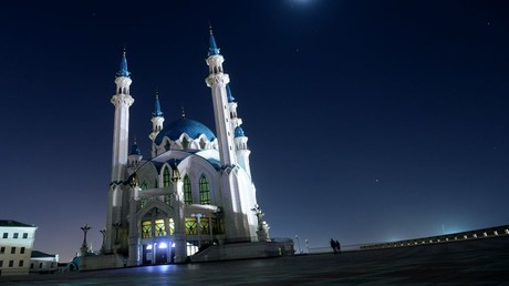 A view of Qul Sharif Mosque in Kazan. © Maksim Bogodvid