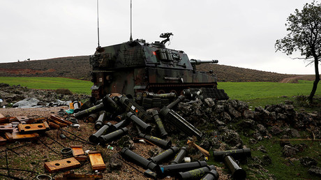 Turkish army claims 100s of Kurdish 'terrorists' killed amid 'Olive Branch' op