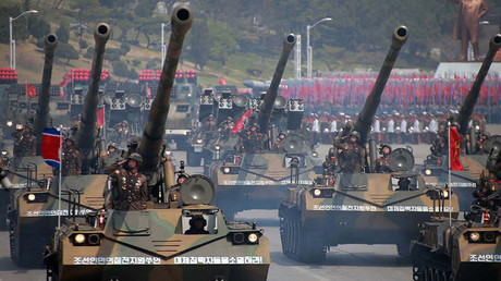 Trial run of 'intimidating' N. Korea military parade captured by satellite (PHOTOS)