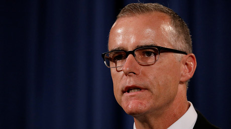 US Attorney General Sessions fires ex-FBI deputy director McCabe