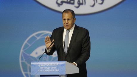 Praise & heckling as Russian FM speaks at Syrian National Congress in Sochi (VIDEO)