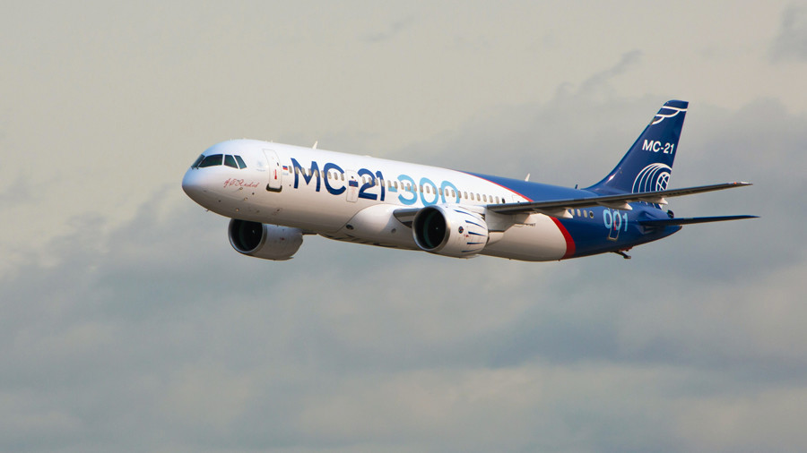 Aeroflot secures $5bn deal for 50 Russian-built MC-21 passenger jets