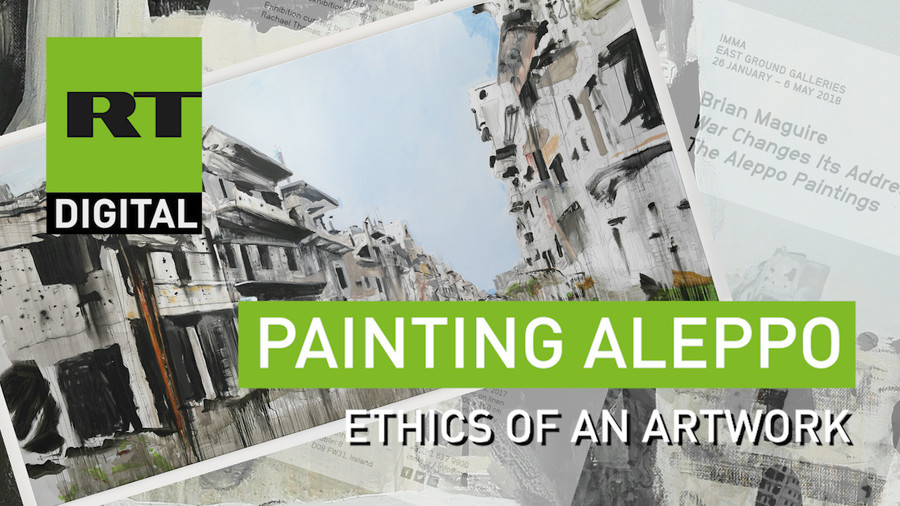 The Aleppo Paintings: Bringing a warzone's story to life (VIDEO)