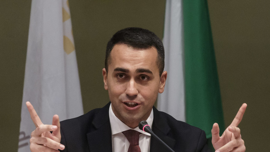 EXCLUSIVE: Italy's Five Star leader Luigi Di Maio says UK should stop being 'punished' over Brexit