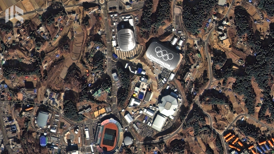 Olympics from orbit: PyeongChang stadia look primed for action in satellite images (PHOTOS)