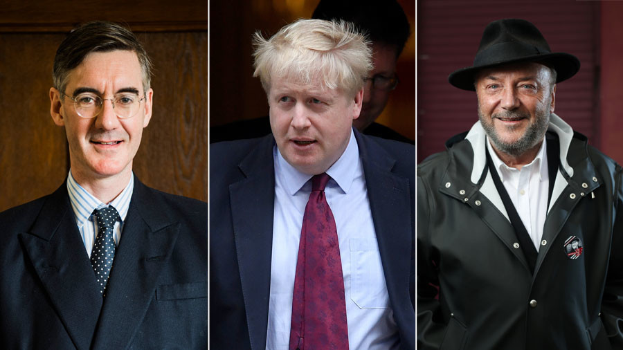 Boris Johnson & Jacob Rees-Mogg? They're madmen, says George Galloway