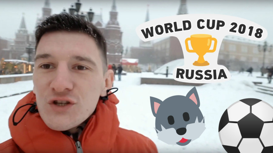 Russia 2018 World Cup: RT Sport City Guide Vlog Part 1 - Moscow
