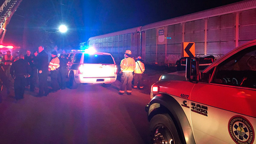 Amtrak Train Reportedly Derails After Collision In South Carolina