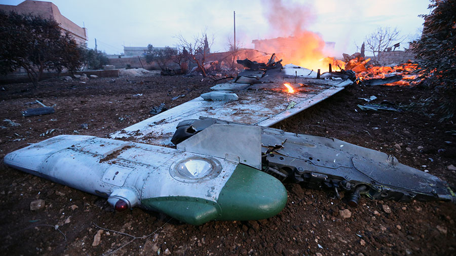 Pilot of downed Su-25 in Syria set off grenade when surrounded by terrorists – Russian MoD
