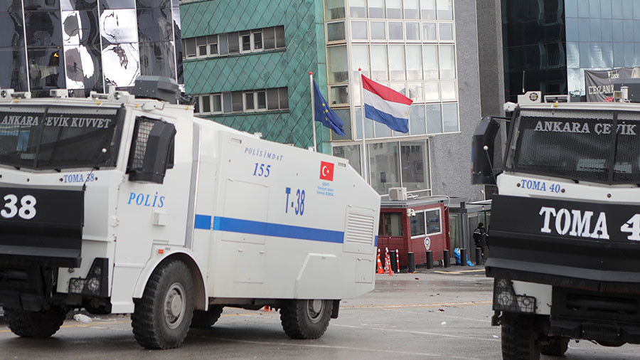 Netherlands withdraws ambassador to Turkey as talks to defuse row break down