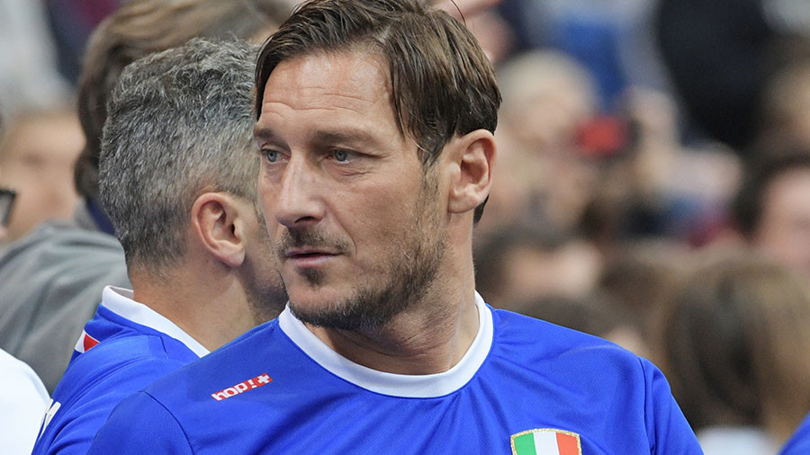 Francesco Totti & Co come to Moscow for Legends Cup 2018
