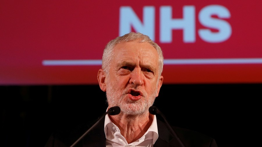 Donald Trump in Twitter row with Corbyn & Hunt as he attacks Britain's 'broke' NHS