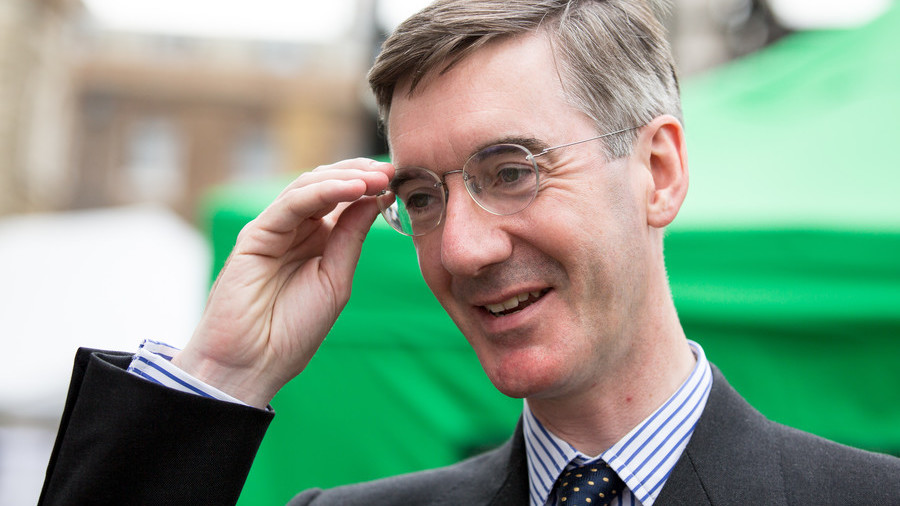 Tories launch bid to 'protect free speech' after 'left-wing thugs' brawl with Jacob Rees-Mogg