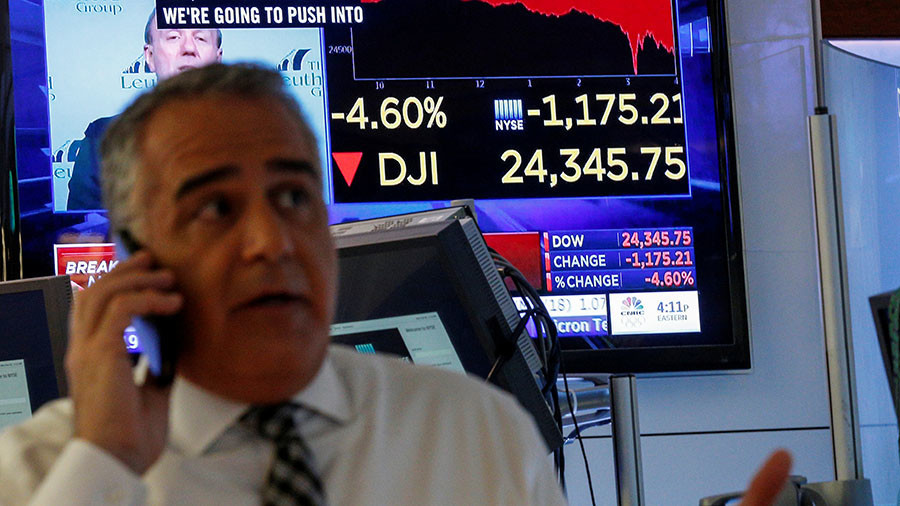 Nightmare on Wall Street: US markets suffer worst single-day decline in history