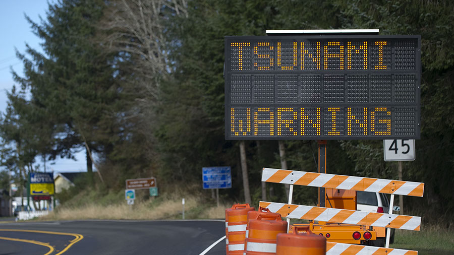 US East Coast residents receive false tsunami warning