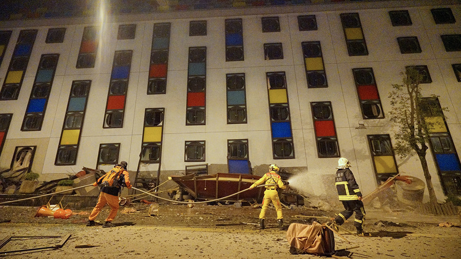 4 killed, 220+ injured as 5 buildings collapse in 6.4 Taiwan quake (VIDEOS)